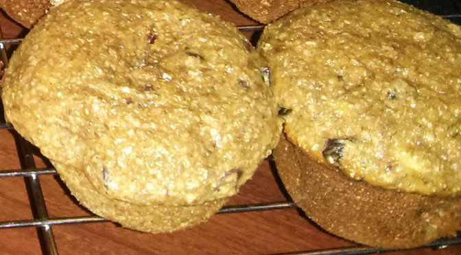 Cranberry banana bran muffins fit the healthy bill