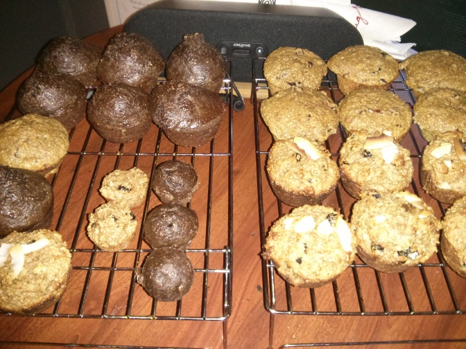 Blueberry Coconut Bran Muffins a personal favorite