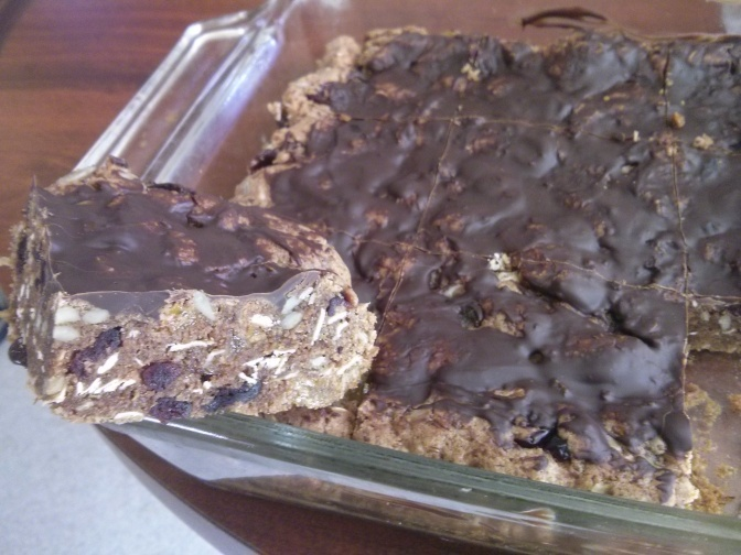 High energy bars loaded with healthy flavor