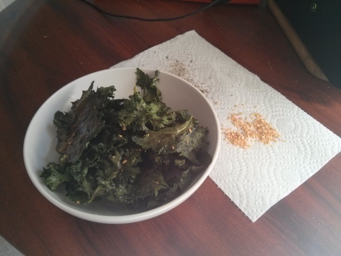 Crush the chips craving with kale