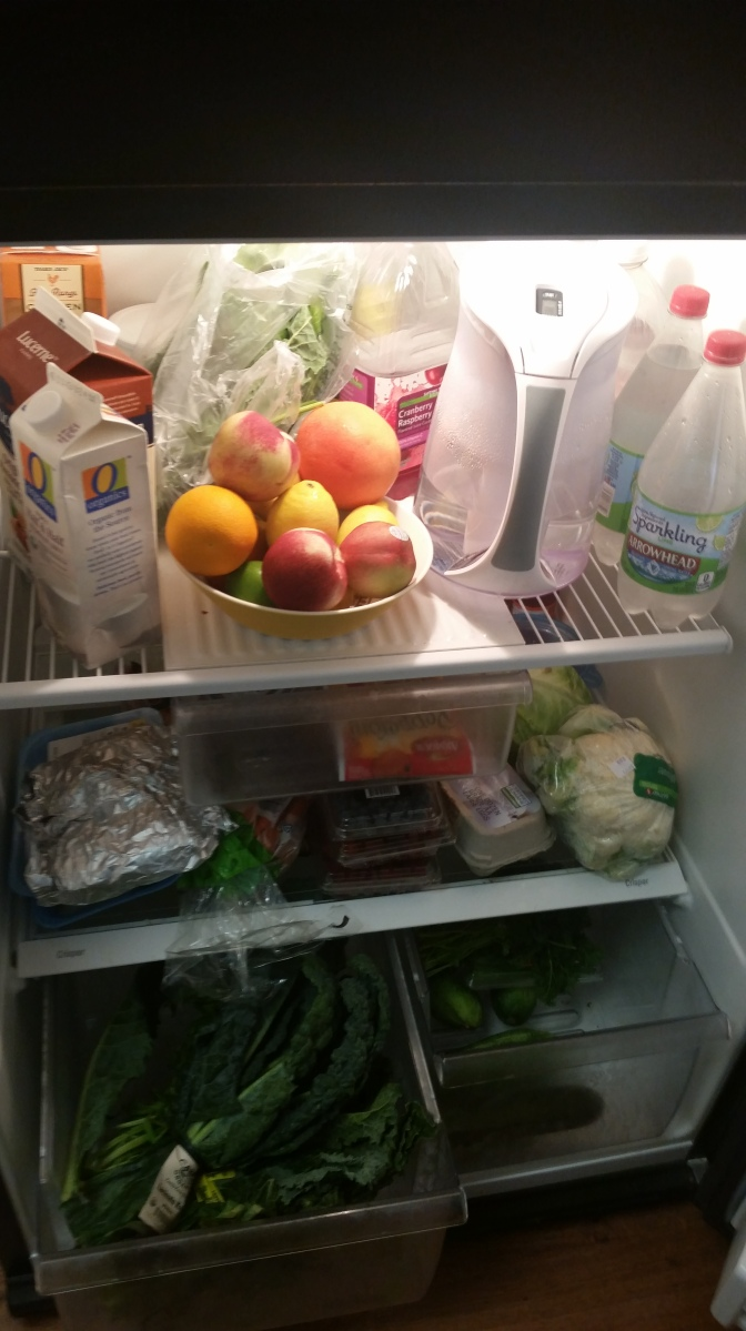 Day four: Clean eating re-centers focus
