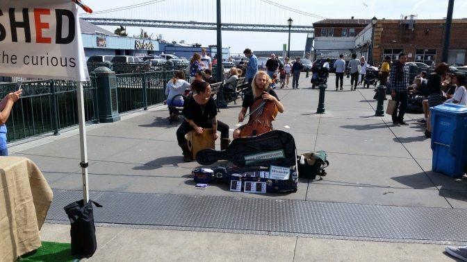 Honor the craft: Busking is not begging