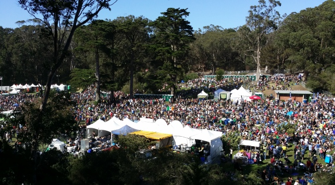 Hardly strictly the power of art displayed